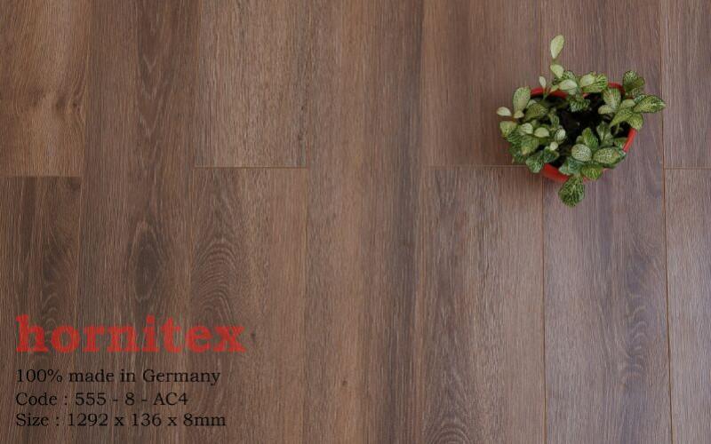 Sàn gỗ Hornitex 8mm 555